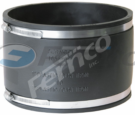 "8"" x 8"" CI/Plastic Fernco Flexible Coupling 1056-87"