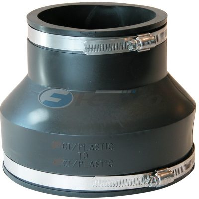 "8"" x 6"" CI/Plastic Fernco Flexible Coupling 1056-85"