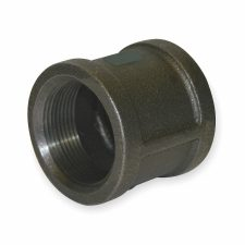 "1-1/2"" Black Malleable Iron Coupling"