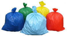 30 Gallon Bear Claw Trash Can Liners 2Mil 80PK