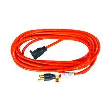 Outdoor Extension Cord 16/3 SJTW 25ft Orange