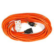 Outdoor Extension Cord 16/3 SJTW 100ft Orange