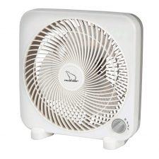 "Polar Aire 3 Speed Box Fan 9"" Blade White"