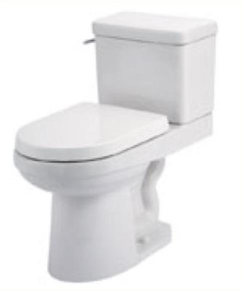 Gerber Wicker Park High Efficiency 2pc Toilet 17 Quot H