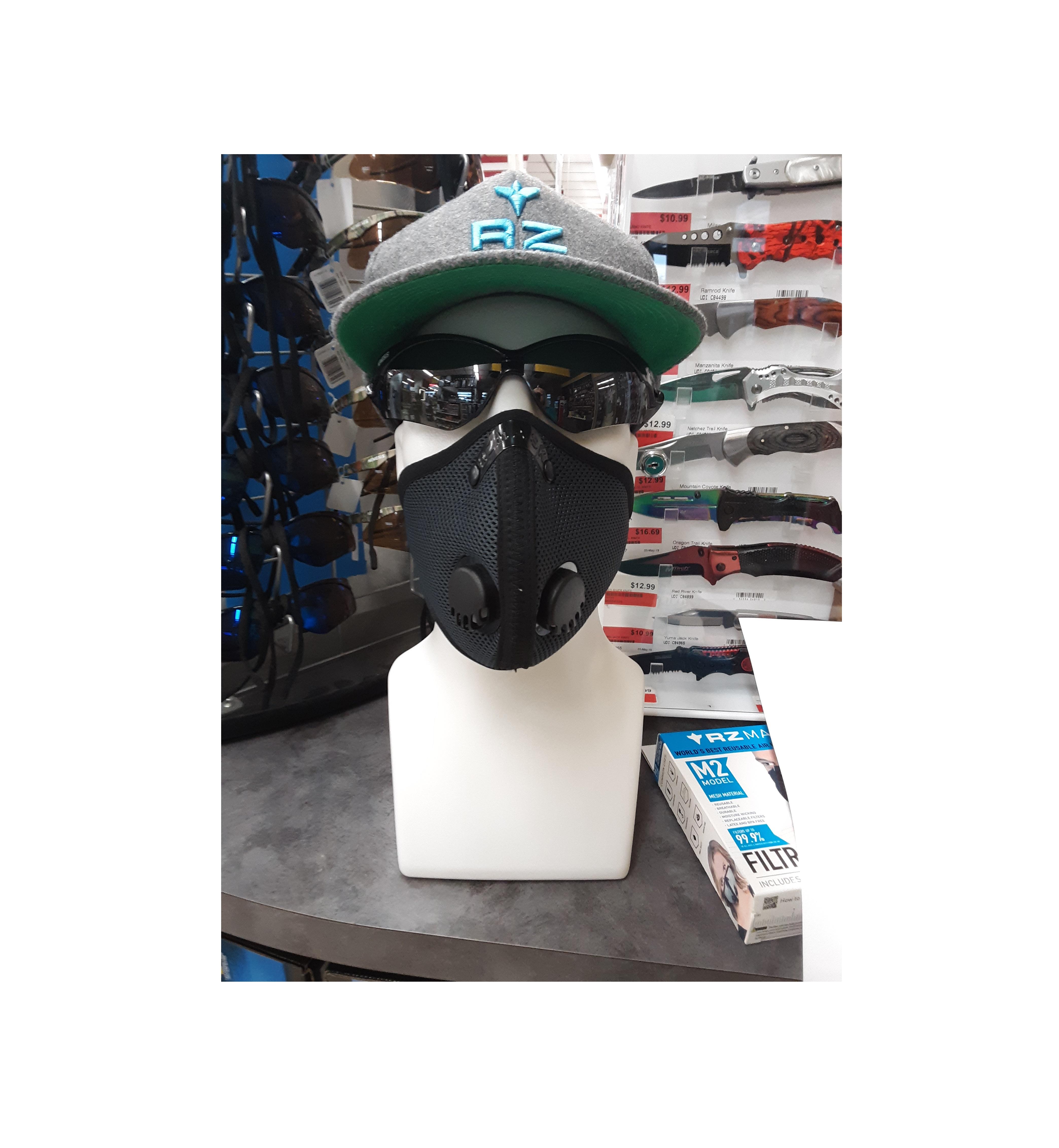 black m2 rz mask