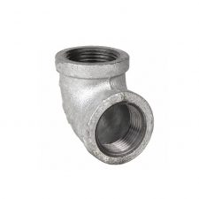 Galvanized Pipe 90 Elbows